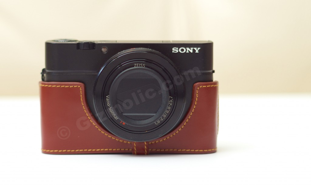 Sony RX100M3-leather